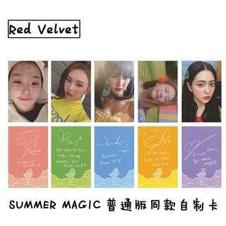 [ PO ] RED VELVET SUMMER MAGIC PHOTOCARDS SET