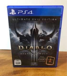 PS4 Diablo III Reaper of Souls Ultimate Eval Edition