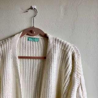 LBR Giselle Knit Cardigan in Cream