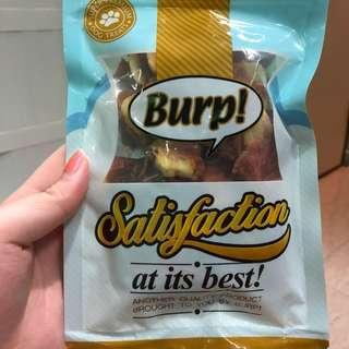 BURP BANANA CHIP WITH CHICKEN WRAP 100g