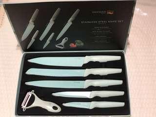 全新德國寶刀套裝Stainless Steel Knife Set