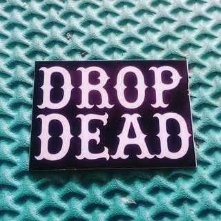 Sticker dropdead