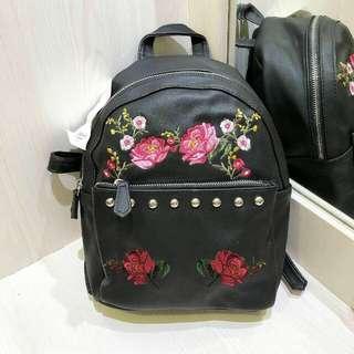 Tas Backpack Stradivarius Bordir