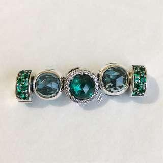 Green Theme Pandora Charms