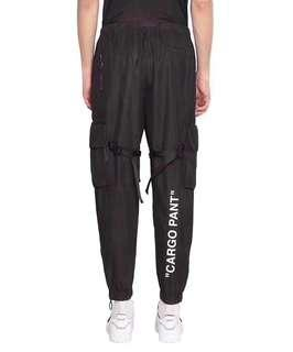 Off-White Black Parachute Cargo Pants (Replica)