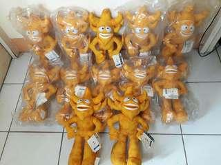 12pcs. Licensed Fifa World Cup Mascott Toy