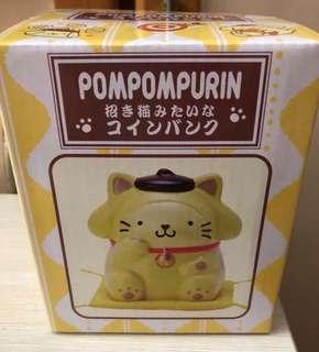 布甸狗錢箱 Pompompurin