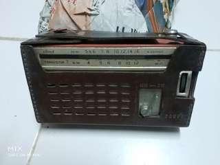 古舊 皮套收音機 私人收藏品出讓
