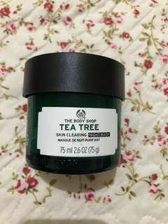 Preloved The Body Shop Tea Tree Clearing Night Mask