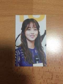[FREEBIE] Kim So Hyun photocard