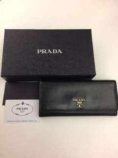 Prada Wallet 長銀包 (85%new)