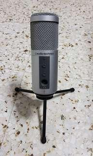 Audio Technica ATR2500 - USB Cardioid Condenser Studio Microphone