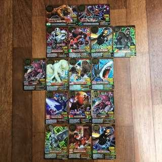 [Clearance] Animal Kaiser Gold Cards