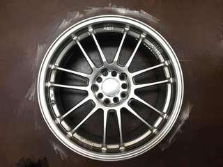 Re30 Sport Rim 18 inch 5x114.3 5x100 Civic Wish