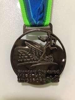 42KM Standard Chartered Marathon 2012 Medal