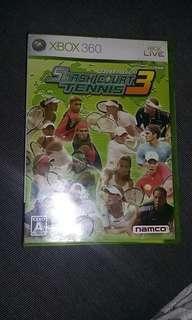 Xbox 360 tennis