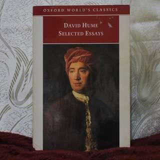 Selected Essays [David Hume]