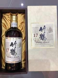 竹鶴17- 日本酒、日本威士忌