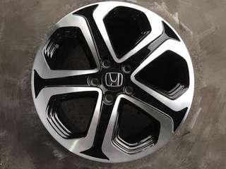 HRV Original 17 inch Rim Accord Civic CRZ CRV WALD Stream