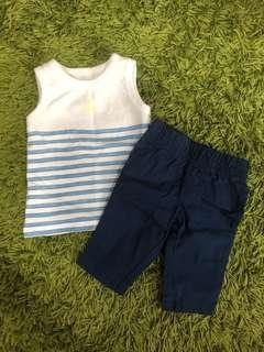 Tshirt and bottoms for Newborns