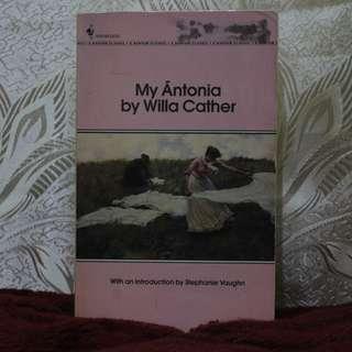 My Ántonia [Willa Cather]