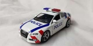 1:32 diecast Audi A5 in new SPF livery