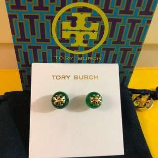 Tory Burch Earrings - Emerald green