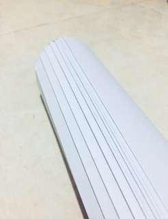 GRATIS 3M TAPE - WHITE PATTERN PAPER (10 LMBR)