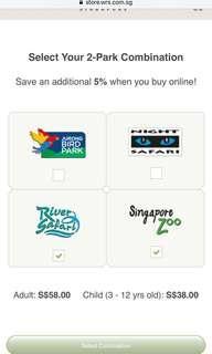 🚚 Singapore zoo and river safari combo