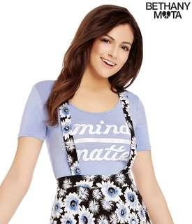 Bethany Mota mind over matter crop top