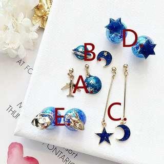 long earrings pearl for party anting pesta anting korea korean earrings anting bershka stradivarius hnm zara f21 h&m forever 21