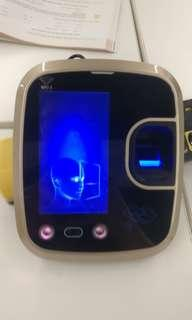 4.3 inches display Face Recognition Time attendance device
