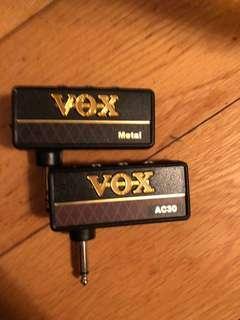 Vox Amplug Metal Headphone Amp