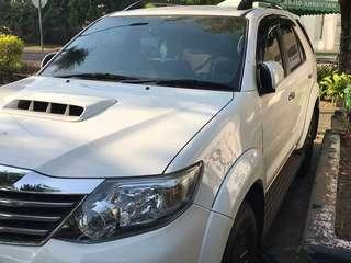 Fortuner G Series Manual 2015