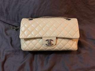 Chanel Classic Medium Bag in cream