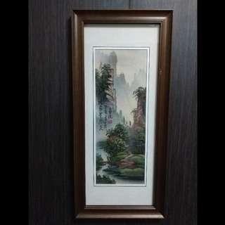 zhangjiajie chinese sandstone painting
