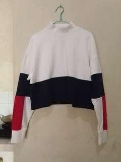 Monki H&M cropped sweater ORI