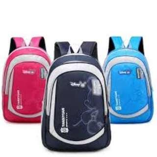 Mickey School Bag Backpack 3 Colors High Quality