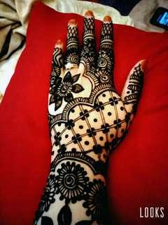 Bridal Henna Mid-arm lenght