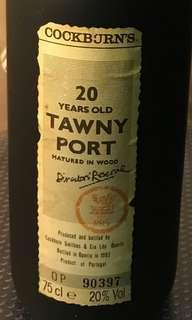 Cockburns 20 Years Old Tawny Port