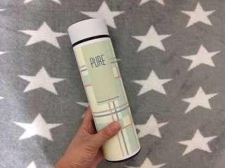 🚚 川本家 格紋真空瓶JA-L425P(純潔白)