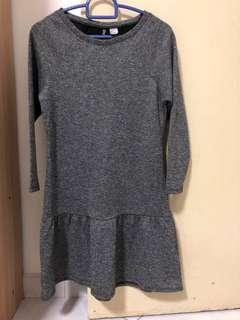 Brand new H&M grey sweater dress