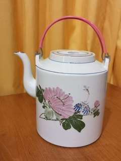 Rare large vintage porcelain traditional Chinese teapot