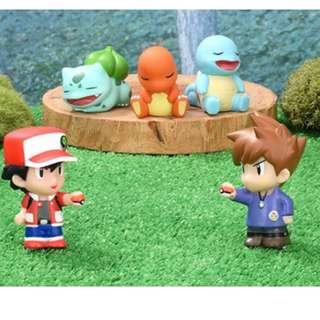 Pokemon Center Exclusive Yubi Ningyo Collection Finger Figure Vol.2 (Pre-Order)