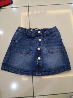 Cotton On Denim Skirt (7-8y)