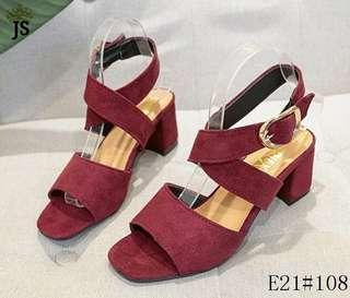 Ankle strap korean sandals