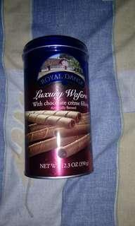 Royal Dansk Luxury Wafer Sticks (Chocolate)