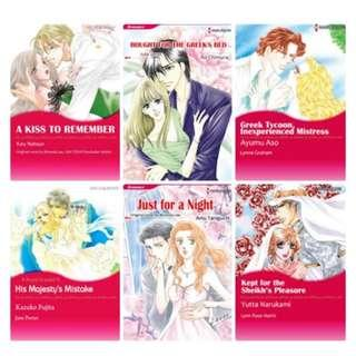Paket Ebook Komik Harlequin English 23