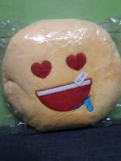 smiley pillow for the kids