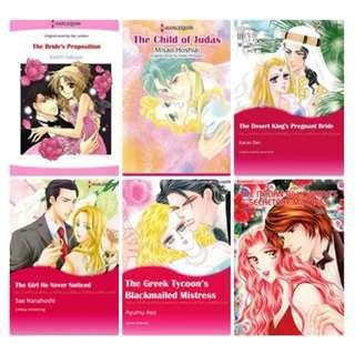 Paket Ebook Komik Harlequin English 25